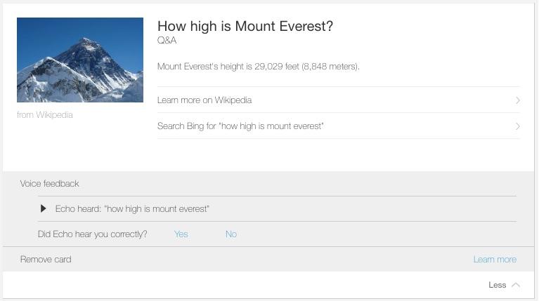 Echo - Mt Everest